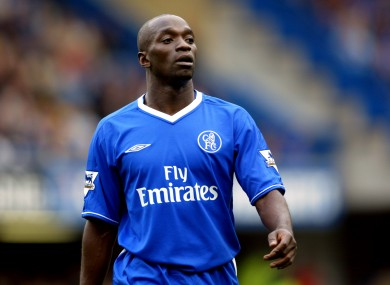 Makelele during his Chelsea days.