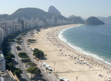 Rio De Janeiro will have to manage an influx of around half a million World Cup fans.