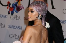 Here's just some of the painstaking work that went into Rihanna's 'naked' dress