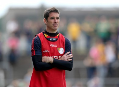 Carlow manager Anthony Rainbow will be much happier with his lot today.