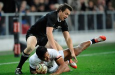 Brilliant Ben Smith intervention lays foundation for All Blacks win over England