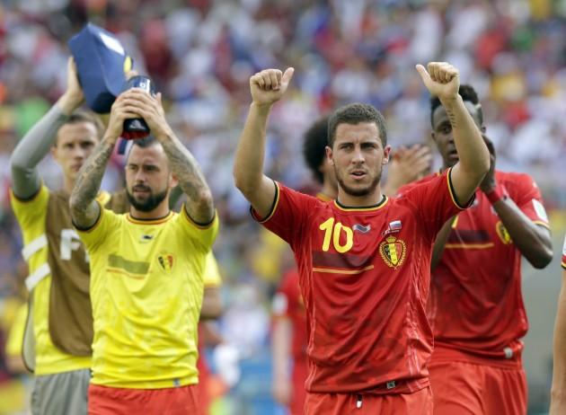 Brazil Soccer WCup Belgium Russia