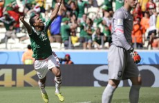 Mexico have one foot in the quarter finals thanks to this Giovanni dos Santos screamer