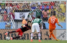 As it happened: Holland v Mexico, World Cup last 16