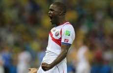 Joel Campbell, Costa Rica's influential attacker, will be given Arsenal chance