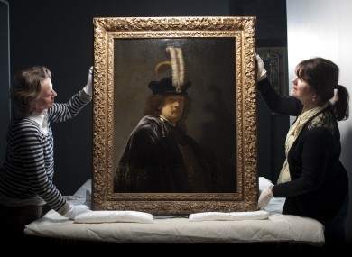 Rembrandt painted himself wearing that hat.