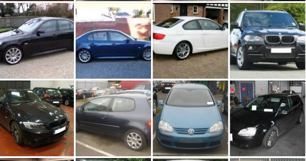 These cars were bought with fake bank drafts and sold on to unsuspecting buyers