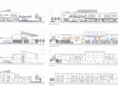 Plans for the building