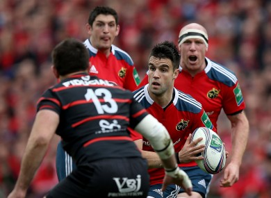 Munster faced Toulouse in the quarter-finals of the last-ever Heineken Cup.