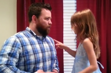 Dad and daughter lip-sync the most adorable Disney duet