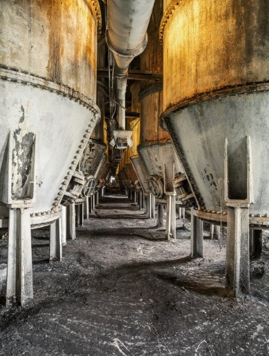 What does an abandoned Brooklyn sugar factory look like?