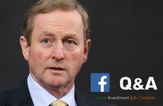 Enda asked for Facebook questions on trade and jobs, but people aren't sticking to the script…
