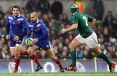 Mercurial Frédéric Michalak returns at out-half for Les Bleus