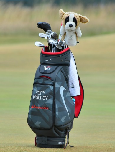Rory McIlroy's golf clubs have gone missing somewhere between Newark and Dublin