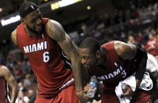Miami Heat's Wade joins LeBron James on free agent market