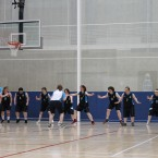 Team Eastern Region getting ready to do battle on the basketball court <span class=