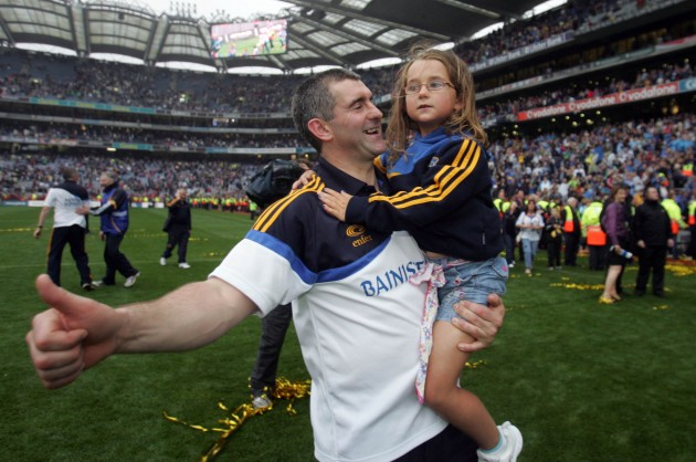 Liam Sheedy with his daughter Gemma