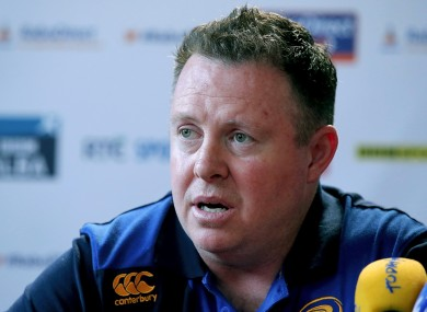 Matt O'Connor ended his first season as Leinster coach in the winners' circle.