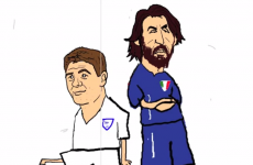 'How to boss the midfield' — This Andrea Pirlo cartoon is 46 seconds of absolute perfection