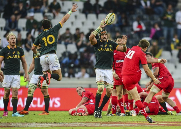 Rugby Union - 2014 Castle Lager Incoming Series - South Africa v Wales - Mbombela Stadium