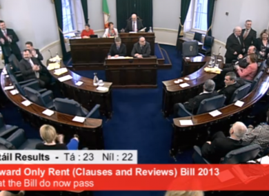 The Seanad chamber should have a new Fine Gael member later this year