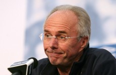 Sven-Goran Eriksson: Quarter-finals would be a good achievement for England
