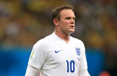 Hodgson shields Rooney after opening World Cup defeat