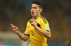 As it happened: Colombia v Uruguay, World Cup last 16