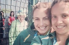 The Queen photobombed a selfie with a big grin at the Commonwealth Games