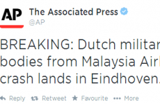 A badly-punctuated AP tweet about MH17 caused widespread panic on Twitter