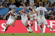 As it happened: Germany v Argentina, 2014 World Cup final