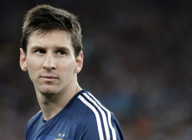 Messi was criticised by some despite winning the Golden Ball.
