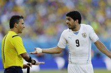 Referee who missed Suarez bite handed World Cup semi-final