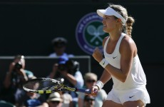 Go Canada! Bouchard burns off Halep to reach Wimbledon final and make history