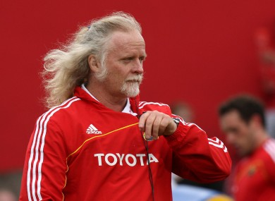 Fisher pictured in Munster colours in 2009.