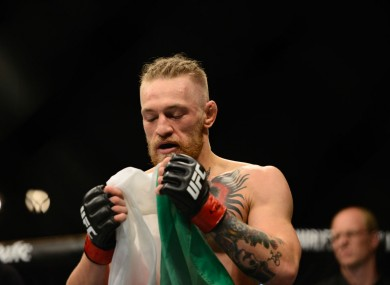 Conor McGregor was the star attraction at Saturday's event.