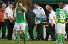 Cork City's Lenihan discharged from hospital following concussion