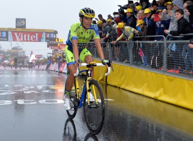 Contador is the second high profile rider to pull out.