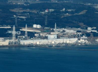 Fukushima No. 1 nuclear power plant.