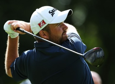 Shane Lowry's recent run of good form continues.