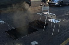 A 'build-up of gas' caused this morning's manhole explosion in Dublin