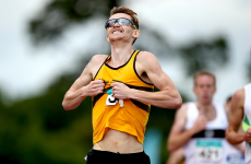 Ciarán O'Lionaird is named best athlete at Senior Track and Field Championships