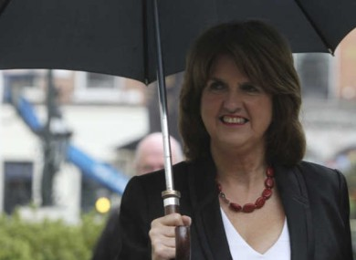 The new legislation was introduced by Tánaiste Joan Burton