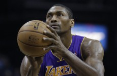 Video: Metta World Peace takes a pick-up game just a little too seriously