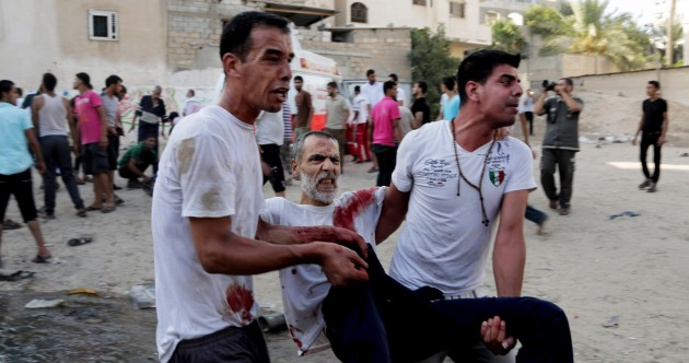 Strike on Gaza market during 'partial ceasefire' kills 17