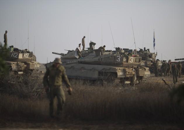 Mideast Israel Palestinians Photo Gallery