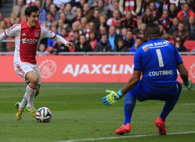 Bojan was on loan at Ajax last season.