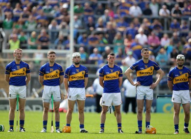Tipperary hurlers face Dublin at 4pm this Sunday.