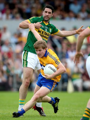 Podge Collins in action against Kerry earlier this year.