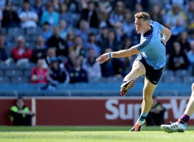 Flynn was among the goals when Dublin beat Wexford last month.